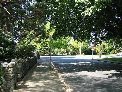 Rockland ave in Victoria